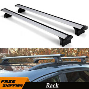 47 Roof Rack Cross Bar Rail Cargo Carrier For 08 16 Audi Q5 Q3 Q7 Bmw X5 X6