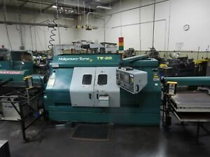 Nakamura Tome Tw 20 Twin Spindle turret Turning Center