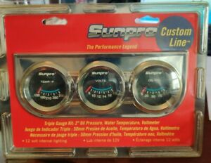 Sunpro Cp7996 Triple Gauge Kit 2