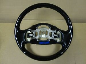 97 03 Ford F150 Xlt Truck Expedition Black Factory Leather Steering Wheel