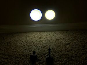 2x Wireless Led Dental Medical Loupes Light cordless Tested