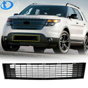 Fit For 2011 2012 2013 2014 2015 Ford Explorer Front Bumper Lower Grill Black