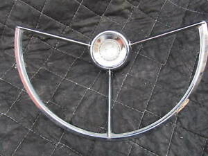 Vintage Pontiac Star Chief Steering Wheel Horn Ring