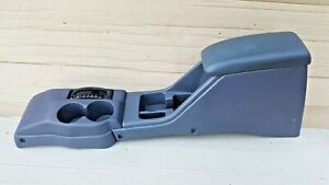 95 00 Toyota Tacoma Center Console Armrest Cup Holder Shifter Bezel Blue