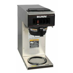 Bunn Coffee Maker 12 cup Commercial 1 warmer Drip Type Industrial Stainless Grey