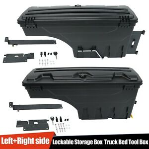 Truck Bed Storage Toolbox Left Right Side For 15 20 Chevy Colorado Gmc Canyon