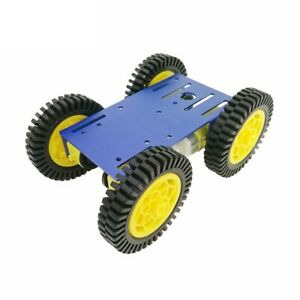 3x metal Robot 4wd Car Chassis C101 With Four Tt Motor Wheel For Arduino Un F3k6