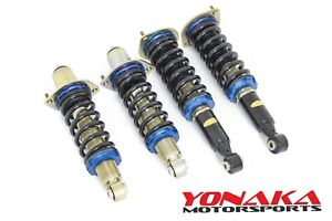 Yonaka Miata Na Race Coilovers Lowering 89 98 Mazda Performance Coilover Track