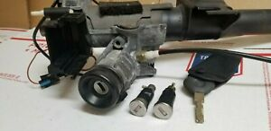Bmw E36 Ignition Switch With Key 328 323 M3 96 97 98 99 Lock Door Tumblers Oem