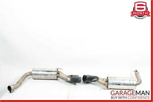 03 09 Mercedes W211 E320 E550 Brabus Rear Exhaust Muffler System Assembly Oem
