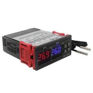 10x stc 3008 Dual Digital Temperature Controller Two Relay Output 24v Therm U8d5