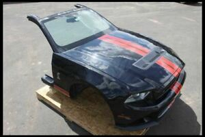 2011 2012 Ford Mustang Shelby Gt500 Front Clip Xenon Hid Headlamps Hood Bumper