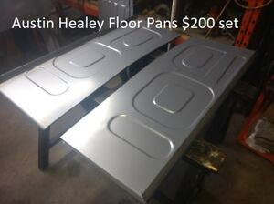 Austin Healey Floor Pans 100 4 100 6 3000 Big Healey Floor Panel