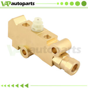 For Gm Chevy Disc Disc Brake Proportioning Valve Pv4 Brass New