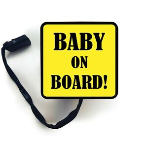 Hitch Cover Art Baby On Board Sign Trailer Receiver Led Brake Light