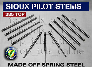 12x Sioux Valve Seat Grinder Pilots 385 Top Set Of All Metric Sizes
