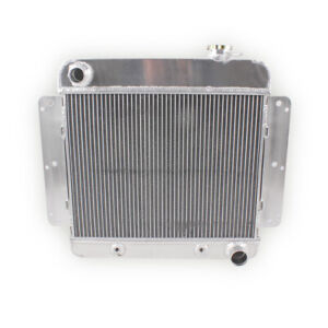 For Chevrolet Chevy 2 Nova 1962 1963 1964 1965 1966 1967 3 Row Aluminum Radiator