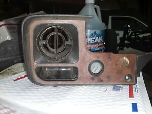 1979 1983 Toyota Pickup Truck Heater Dash Vent And Bezel Woodgrain Sr5 Oem