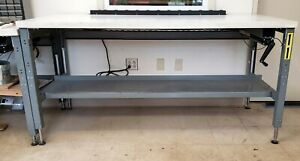 Complete Suspa Movotec Lift System Mqs 00003 Hydraulic Workbench Made In Usa