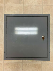 Lockable Electrical Cabinet Wire Guard Systems 18 X 18 X 4