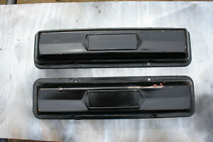Chevrolet 327 Steel Valve Covers Small Block Chevy No Pcv 275 300 Hp