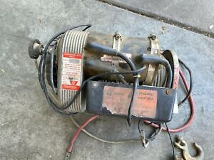 Warn Winch 8274 8000 Winch Great Condition