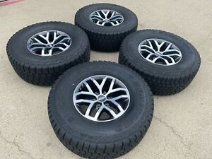 17 Ford F150 Raptor Factory Oem Wheels Rims Sumitomo 315 70 17 Tires New