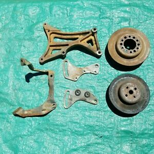 Oem 1959 Cadillac 390 Air Conditioning Bracket And Pulley Lot