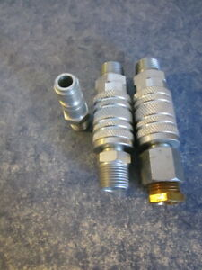 3 Amflo Air Quick Coupler Plug Fittings 1 2 And 3 8 Typpe C9