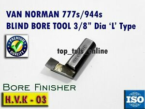 Van Norman Blind Bore Tool Bit Carbide Tipped 944s 777s 3 8 H V K 03 Grade