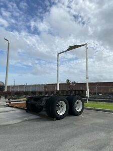 Trailer Chassis Axle Tandem