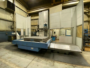 Cnc Union Kcu 150 Planer Type Horizontal Boring Mill