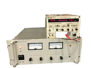 Hp Agilent 6268b Dc Power Supply 0 40v 30a Load Tested 220v Input