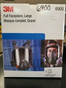 6900 Large Full Face Respirator 3m Genuine Size Large Brand New