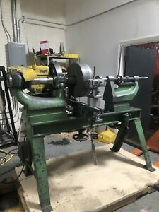Pryibil Metal Spinning Lathe With Chucks And Holds 5hp 32 Swing