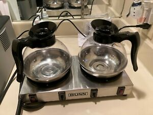 Bunn Dual Coffee Warmer And 2 Coffee Pots New Out Of Box Great Deal