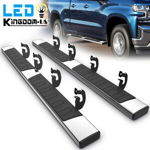 For 2009 2014 Ford F 150 Super Crew Cab 6 Running Boards Nerf Bar Side Steps