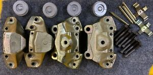Unassembled Early Style Porsche 914 Front Brake Calipers Zinc Plated