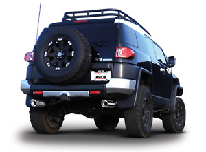 For 2007 2014 Toyota Fj Cruiser Borla Catback Exhaust System 2 5 To Dual 2