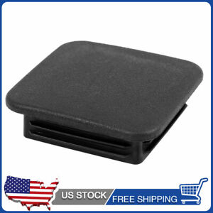 Rubber Trailer Hitch Tube Cover Plug Towing Protecter Cap For 2 Receiver Black