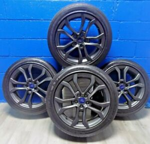 Set Of Ford Fusion 2017 2020 Rims 10120 Goodyear Eagle Ls2 Tires 235 45r18 94v