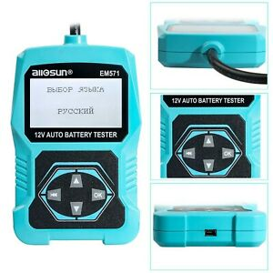 All Sun Em571 12v Automotive Vehicle Car Battery Tester 3 In 1 Multifunction