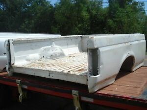 92 97 Ford F 150 250 350 Pickup Truck Bed Srw White 8 Foot Box
