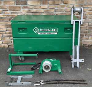 Greenlee 2042 2000 Lb Cable Puller Wire Easy Tugger Package 2001 nice Shape