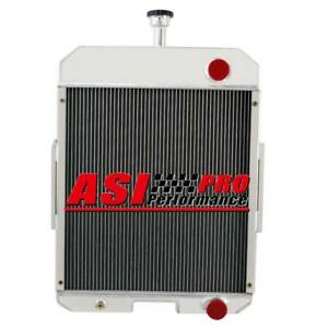 5 Row Aluminum Tractor Radiator For Case Ih 666 686 706 756 2706 2756 396352r91