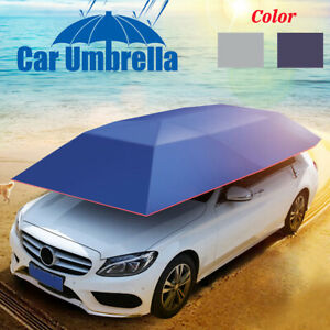 Car Tent Umbrella Sun Shade Roof Cover Uv Waterproof Resistant Protect U8r6