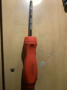 Snap on Red Hard Handled Ratchet Driver 1 4 Square Tmr4 tmr4r