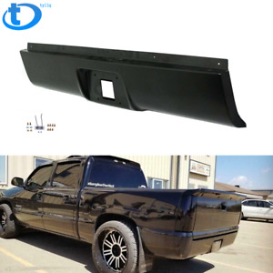 New Rear Steel Bumper Roll Pan Fit For 1999 2007 Silverado Sierra Fleetside