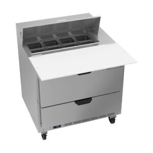 Beverage Air Sped36hc 08c 2 36 Sandwich Salad Unit Refrigerated Counter