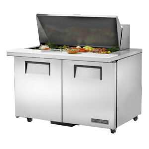 True Tssu 48 18m b ada hc 48 Mega Top Sandwich Salad Unit Refrigerated Counte